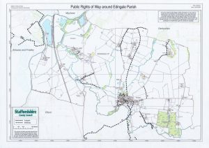 public rights of way map